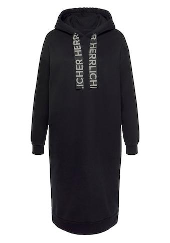 Herrlicher Sweatkleid »BLYTHE«, mit Logo-Statement-Kordel-Strings kaufen
