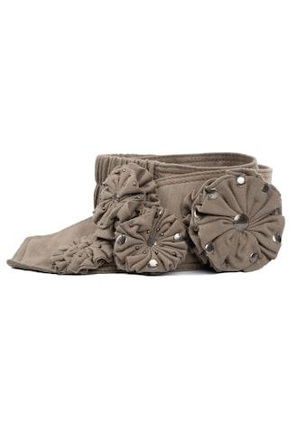 CASSANDRA Stretchgürtel »Flower Power«, mit Stretchband kaufen