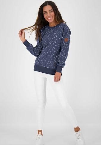 Alife & Kickin Sweatshirt »DarlaAK B«, cooler Crewneck-Sweater mit Allover-Print kaufen