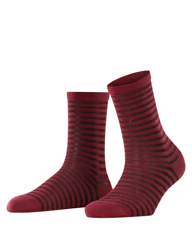 falke -  Socken Flash Rib, (1 Paar), mit transparenten Effekten
