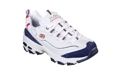 Skechers Sneaker »D´Lites - March Forward«, im trendigen Kontrast-Look kaufen