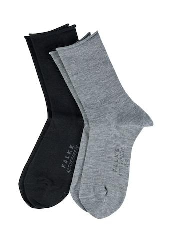 FALKE Socken »Active Breeze 2-Pack«, (2 Paar), für ein frisches Tragegefühl kaufen
