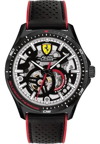 Scuderia Ferrari Automatikuhr »Pilota Evo Automatic, 0830837« kaufen