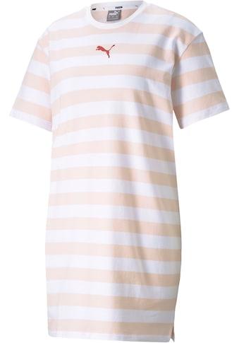 PUMA Jerseykleid »SUMMER STRIPES AOP Dress« kaufen