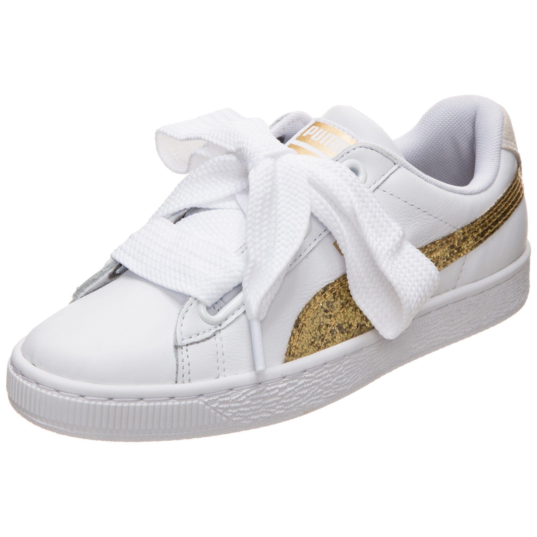 PUMA Sneaker »Basket Heart Glitter«