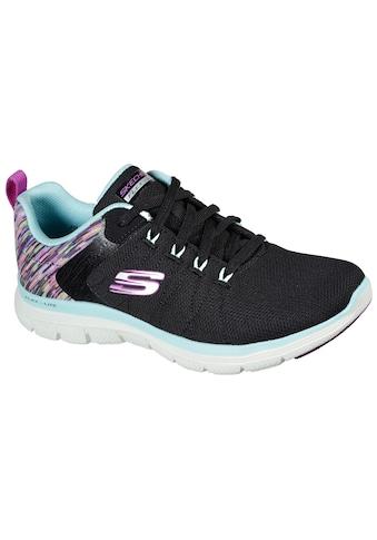 Skechers Sneaker »FLEX APPEAL 4.0 DREAM EASY«, mit buntem Print an der Ferse kaufen