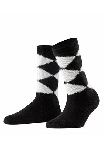 Burlington Socken Cosy Argyle (1 Paar) kaufen