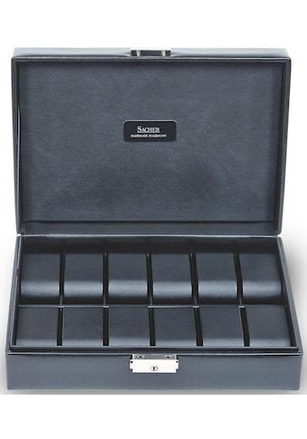 Sacher Uhrenetui »Black Exclusive, 2019.0104N04«, Handmade in Germany kaufen