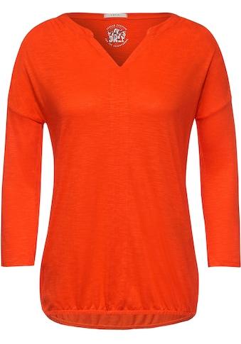 Cecil 3/4-Arm-Shirt, mit Streifendetail am Rücken kaufen