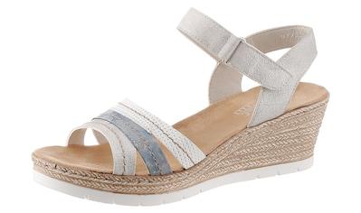 Rieker Sandalette, mit aufwändiger Ziersteppung kaufen