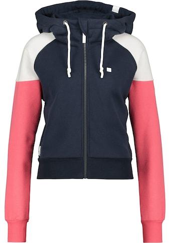 Alife & Kickin Sweatshirt »CaraAK«, kurze Sweatjacke mit Kapuze & Stehkragen kaufen