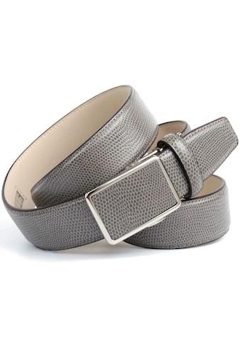 Anthoni Crown Ledergürtel, in Warandesign, teilbezogene Schließe kaufen