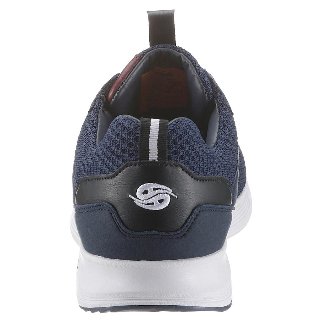 Dockers by Gerli Sneaker, mit seitlichem Logoschriftzug