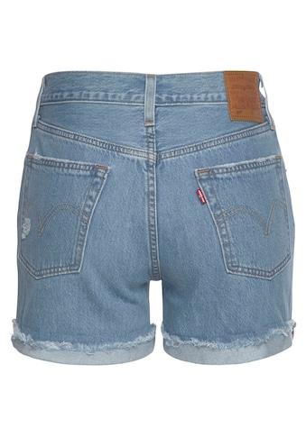 Levi's® Jeansshorts »501® Short Long« kaufen