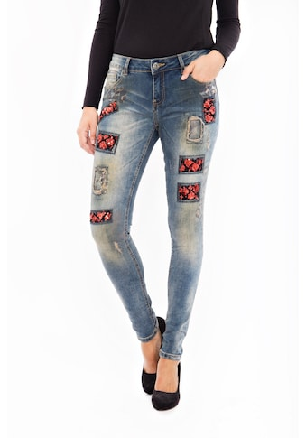Blue Monkey Skinny - fit - Jeans »Honey 8090« kaufen