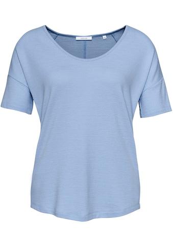 OPUS T-Shirt »Sofiena«, in lässiger Melange-Optik kaufen