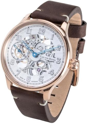 Carl von Zeyten Mechanische Uhr »Lahr, CVZ0021RWH« kaufen