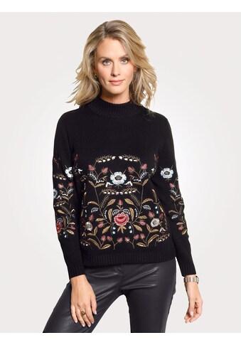 Mona Pullover mit Blumenstickerei kaufen