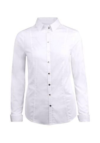 bianca Hemdbluse »SENJA«, klassische Bluse mit Manschette kaufen