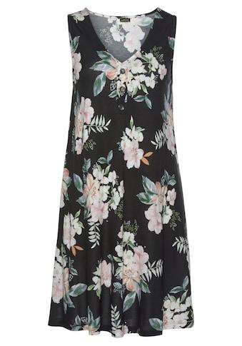 LASCANA Strandkleid, mit Blumendruck kaufen