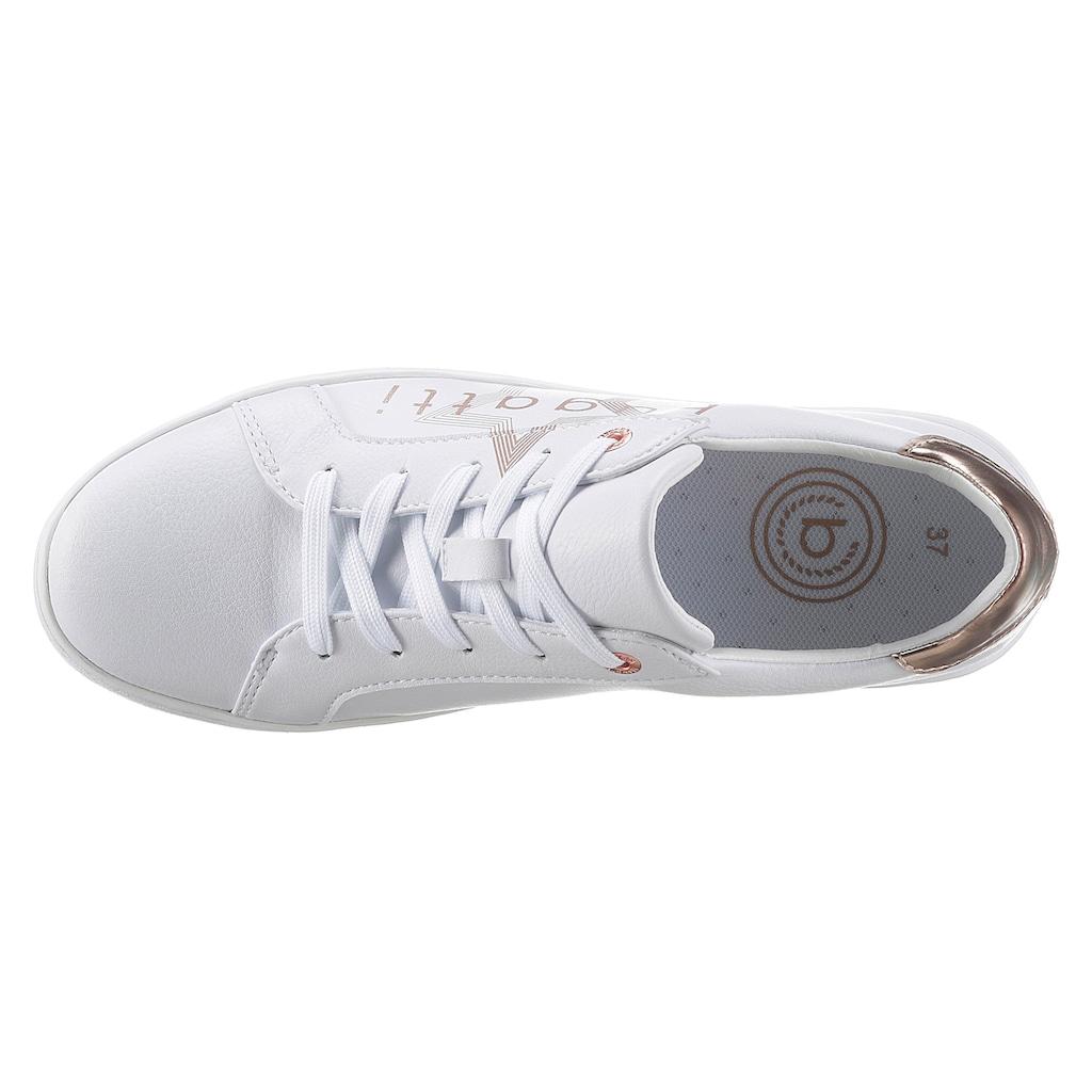 bugatti Sneaker »Fergie Eco«, mit Stern-Applikation