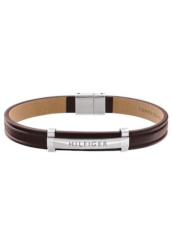 TOMMY HILFIGER Lederarmband »DRESSED UP, 2790159« kaufen