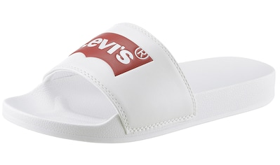 Levi's® Badepantolette »June Batwing S«, mit auffälliger LEVI´S Aufschrift kaufen