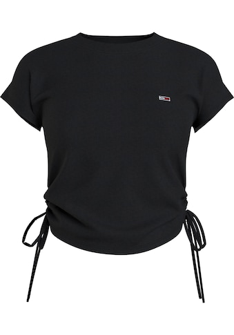 Tommy Jeans Rundhalsshirt »TJW REGULAR SIDE KNOT TEE«, mit seitlichen Raffungen &... kaufen