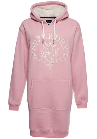 Superdry Sweatkleid »Pride In Craft Os Hood Dress«, mit kuscheligem Futter kaufen