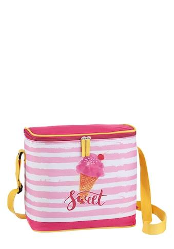 fabrizio® Strandtasche, Kühltasche mit Kühlfach, perfekt für den Strand kaufen