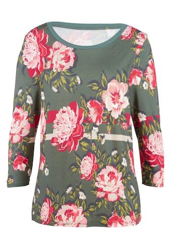 Mona 3/4-Arm-Shirt, mit Digital-Druck kaufen