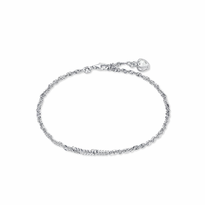 Amor Fußkette mit Anhänger »Herz«