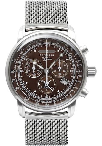 ZEPPELIN Quarzuhr »100 Jahre, Alarmchronograph, Camouflage-Edition, 8688M-3« kaufen