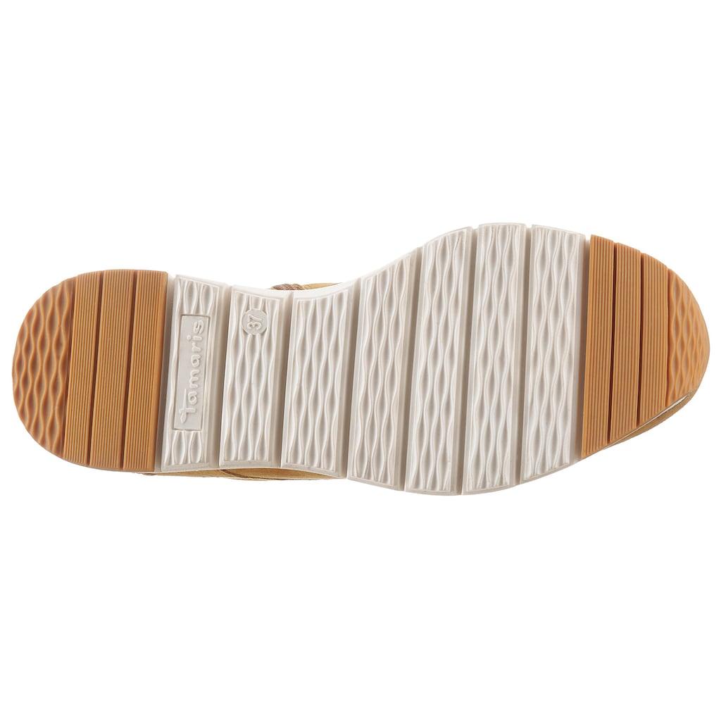 Tamaris Schnürboots »Pure Relax«, mit herausnehmbarer Innensohle