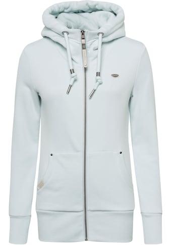 Ragwear Sweatjacke »NESKA ZIP«, mit extra breiten Rippbündchen kaufen