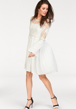 Aniston CASUAL Spitzenkleid (Set, 2 tlg.) bestellen | I'm walking