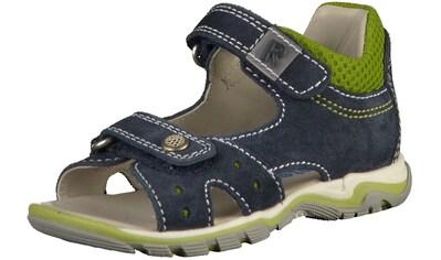 Richter Sandale »Velourleder/Textil« kaufen