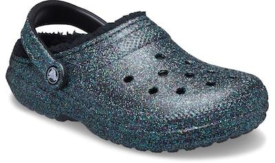 Crocs Hausschuh »Classic Glitter Lined Clog«, mit Glitzer kaufen