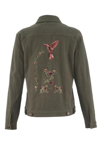 Mona Jeansjacke mit anspruchsvoller Stickerei kaufen