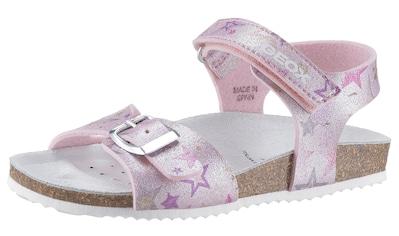 Geox Kids Sandale »Adriel«, in cooler Glitzer-Optik kaufen