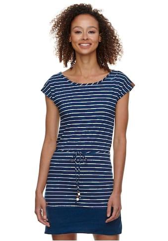 Ragwear Shirtkleid »SOHO STRIPES«, (2 tlg., mit Bindeband), im maritimen Streifen-Look kaufen