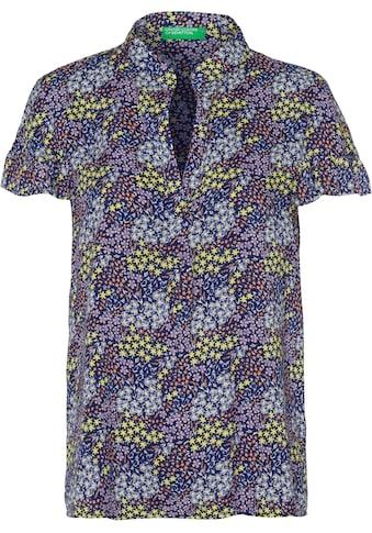 United Colors of Benetton Schlupfbluse, mit sommerlichem Alloverprint kaufen