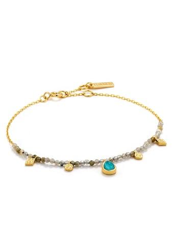 Ania Haie Armband »Mineral Glow, B014-03G«, mit Labradorit und Glasstein kaufen