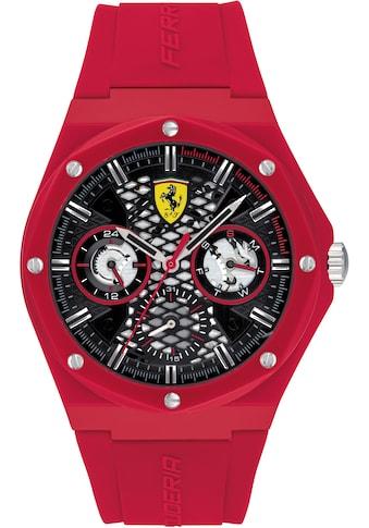 Scuderia Ferrari Multifunktionsuhr »ASPIRE, 0830786« kaufen