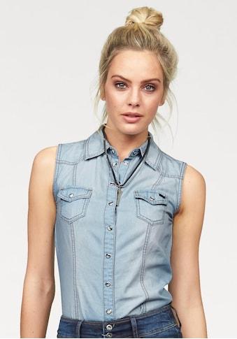 Arizona Jeansbluse kaufen