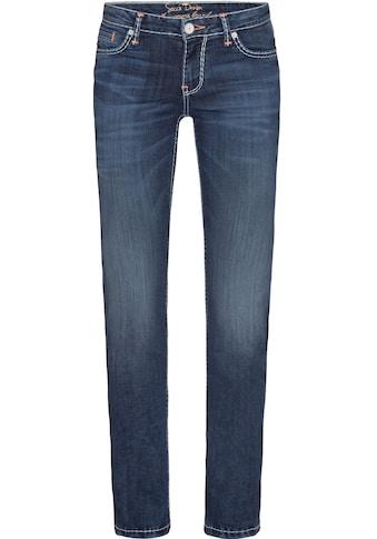 SOCCX Slim-fit-Jeans »RO:MY«, mit hellen Stepp-Nähten kaufen