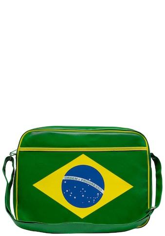 LOGOSHIRT Tasche mit Ordem e progresso-Frontprint kaufen
