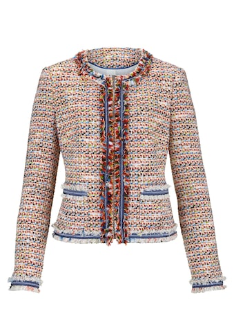 Mona Blazer aus Multicolor-Bouclé kaufen