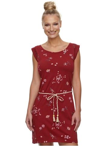 Ragwear Shirtkleid »TAMY FLOWERS«, (2 tlg., mit Bindegürtel), mit romantischem Blumen Allover-Druck kaufen