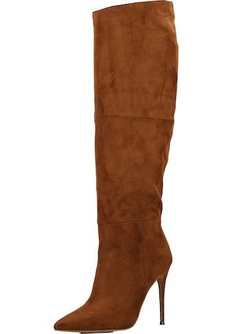 STEVE MADDEN High - Heel - Stiefel »Veloursleder« kaufen